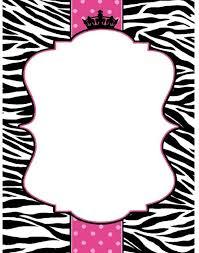 Zebra Baby Shower  EtsyPink Zebra Baby Shower Invitations