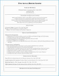 Functional Resume Template Free Download Fabulous 14 Luxury