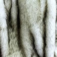 custom russian wolf alaskan huskie faux fur throw blanket ac