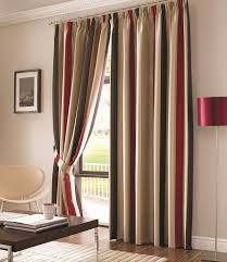 striped curtains 96 inches