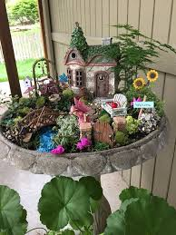 make fairy garden kids
