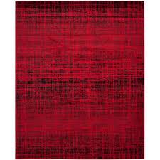 safavieh adirondack red black 8 ft x 10 ft area rug