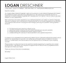 network engineer cover letter sample maintenance engineer cover letter