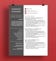 Resume Template Cv Template Cover Letter Modern Resume Designs Mac Or Pc Fully Customizable Formosa