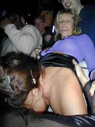 Mature women fucking in public