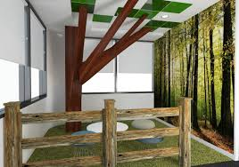 rackspace office morgan lovell. To A Tree Growing In The Office This Space, Is Truly Unique. We  Carried Out All Partitioning, Ceiling And Joinery Works Including Refurbished Rackspace Morgan Lovell