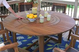 20663 eucalyptus round 63 in dia dining table with lazy susan 2