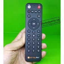 Voice Remote FPT cho FPT Play Box S, 2020, 2019 , 2018 - Remote điều khiển  giọng nói của FPT - Android TV Box, Smart Box