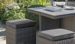 palma cube set luxury wicker garden