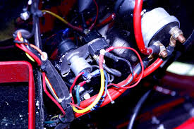 tips on race car wiring systems hot rod network this shows the power on off switch and starter button from below we found
