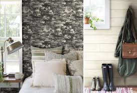 york wallcoverings magnolia home. left to right: pattern homestead and joanna\u0027s legendary favorite, shiplap, created in wallpaper. york wallcoverings magnolia home n