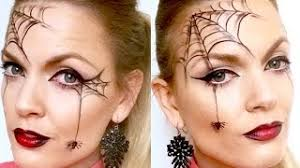 quick and easy spider web makeup