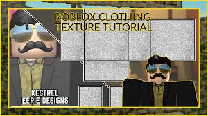Roblox Shirt Textures Roblox Clothing Texture Tutorial