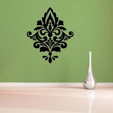 damask wall decals large on damask sticker wall art with damask wall decals large design idea and decorations inspiring