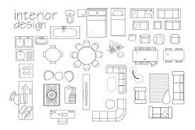 floor plan office furniture symbols. Furniture For Floor Plans Download Interior Design Plan Symbols Top View Cad Symbol Stock Office N