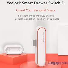 Công Tắc Khóa Tủ Thông Minh Xiaomiyoupin Yeelock Kết Nối Bluetooth An Toàn  - Phụ kiện camera giám sát