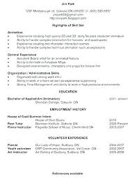 Resume Profile Template Resume Personal Profile Examples Example Of