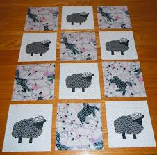102 best Quilts - Sheep images on Pinterest | Sheep, Felt crafts ... & Set of 12 Adorable Sheep Quilt Top Blocks by MarsyesQuiltShop, $16.95 Adamdwight.com