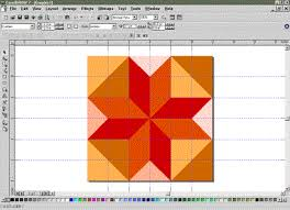 Creating Quilt Designs with Corel Draw by Nancy Hastings-Trew ... & Creating Quilt Designs with CorelDraw: Using the Clone Tool to Duplicate  Your Blocks Adamdwight.com
