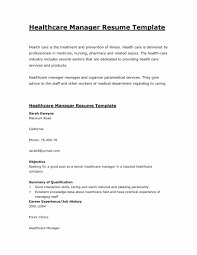 Medical Field Resume Templates Best of Healthcare Resume Toret Nice Medical Field Resume Samples Free