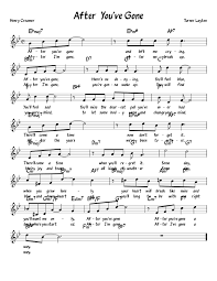 since you been gone sheet music after youve gone sheet music for piano musescore