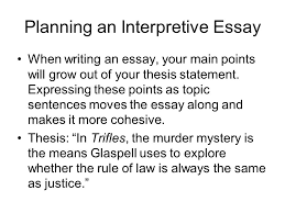 writing an interpretive essay ppt video online  planning an interpretive essay