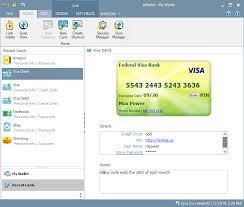 Personal Info Cards Ilium Software Ewallet For Windows Pc Desktop