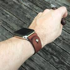 custom fit leather apple watch band takes style to next level watch