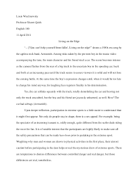 living on the edge final draft v pdf wischnewsky 1louis wischnewskyprofessor shawn quirkenglish 10011 2011