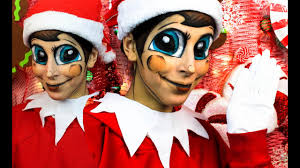 ahhh my body was made to be elf on the shelf in person it s looks so crazy from head to toe i really did look like one i hope you all enjo this transf