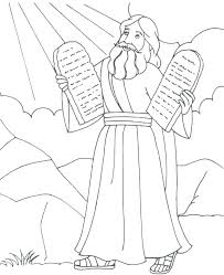 Ten Commandment Coloring Pages Jeanettewalliscom