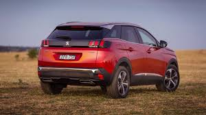 2018 peugeot 3008 review. fine 2018 2018 peugeot 3008 gt line ultimate red rear end in peugeot review