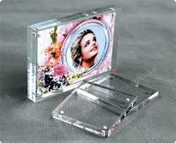 magnetic acrylic frames magnet picture frame photo acryli