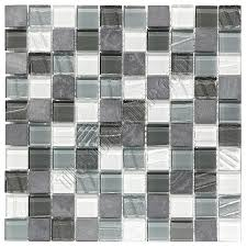 white glass tile texture. Simple Glass Glass And Slate Quartz Mosaic Tile  1X1 Elume Organic Pewter Gloss Glass  Embossed Textured Pattern  Throughout White Texture