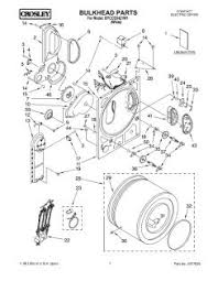 byccd3421w1 whirlpool crosley compact electric dryer parts diagrams manual location