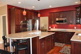 light cherry kitchen cabinets. Traditional Kitchen With Cherry Shaker Cabinets Light H