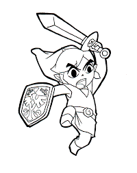 Small Picture Zelda coloring pages toon link printable ColoringStar