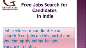 Search Free Resumes Of Candidates Online In India Graspjobs