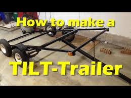 making a diy tilt trailer part 1