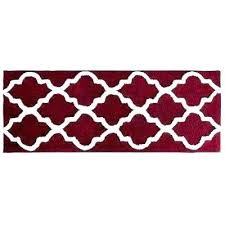 red bathroom rugs burdy bath rugs red bath rugs trellis burdy in x in bathroom mat
