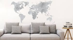 cities and countries wall stickers