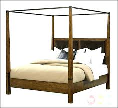 Full Size Canopy Bed Frame Canopy Bed Frame Queen Size Metal ...