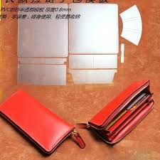 leather craft patterns three women leather zipper wallet template leather craft sewing pattern accessories leather craft leather craft patterns