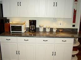 white cabinet handles. Awesome Granite Knobs Door Adorable Black Kitchen Cabinet And Pertaining To White Handles B