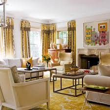 Yellow Living Room Furniture Colorful Living Rooms Traditional Home