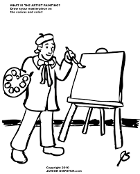 Small Picture Artist Coloring Pages Art With Pagejpg Coloring Pages Maxvision