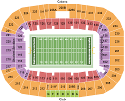 Spectrum Stadium Seating Chart Ucf Spectrum Stadium Tickets Orlando Fl Ticketsmarter