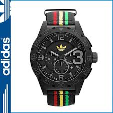 sneak online shop rakuten global market adidas adidas mens adidas adidas mens watch watch watch 48 mm adh2795 newburgh black rasta color