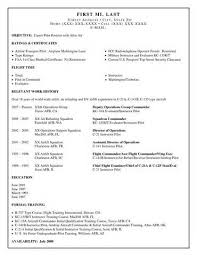 Pilot Resume Template Awesome Unusual Design Pilot Resume Template 48 Military Aviation