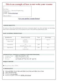 Microsoft Word Resume Template 2007 Word Resume Formats Resume ...